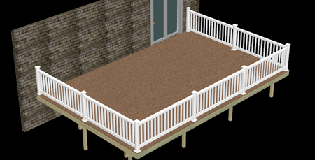 Composite Deck Kit Package Deck Amp Fence Superstore