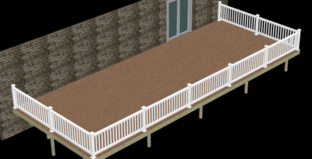 PVC Decking - Vinyl Railing - Composite Decking